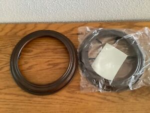 """Van Hygan & Smythe""  8.5""  Plate Display Wood Frames - Walnut-NEW"