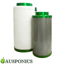 10 Inch FILTAROO Carbon Filter for Hydroponics Air Activated Odor Control System