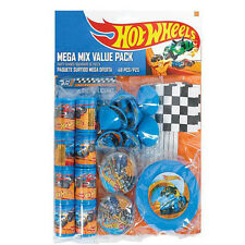 Hot Wheels Wild Racer Mega Mix Party Pack Favors Birthday Decoration Supply 48pc