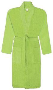 Kids Childrens 100% Cotton Bath Robe Terry Towelling Bathrobe Gown