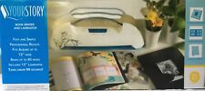 Your Story Laminator & Binder Machine w/ Albums,Pouches, Pages + extras - NEW