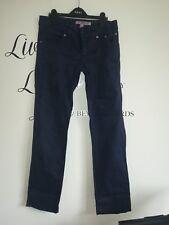 JECKERSON Donna Stretch Slim Fit Navy Jeans Taglia 28 W30L30.5
