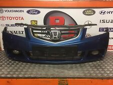 GENUINE HONDA ACCORD MK7 2003-2007 COMPLETE FRONT BUMPER IN METALLIC BLUE #B507P