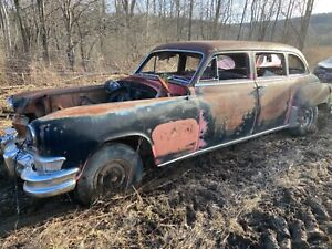 1951 1952 1953 Chrysler imperial limousine parts car - rock solid -hemi rat rod