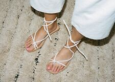 Org.$350 LoQ Ara Lace-Up Sandals Crema 37 (Sold out everywhere!!)