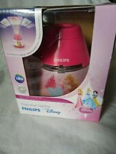 New Philips Disney Princess 2 in 1 Led Children's Pink Night Light and Projector