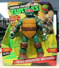 """Playmates Teenage Mutant Ninja Turtles Head Dropping Raphael 11"""" Action Figure"""