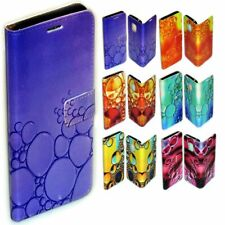 For LG Series Case - Water Bubble Print Pattern Wallet Mobile Phone Case Cover