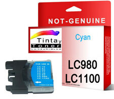 Tinta compatible NON-OEM para Brother LC1100 LC980 DCP-195C DCP-375CW C