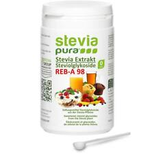 100% reines Stevia Extrakt aus mind. 98% Rebaudiosid A Steviosid Pulver 100g