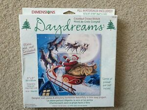 Dimensions - Santa On His Way - Counted Cross Stitch Kit (73181)