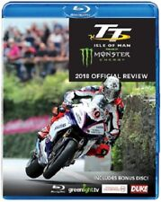 TT 2018 OFFICIAL REVIEW BLU-RAY 228 MINS. INCLUDES BONUS DVD 122 MINS. DUKE1719N