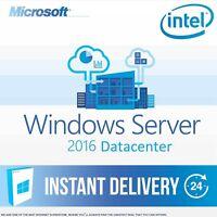 Windows Server 2016 Datacenter License + Full Retail Version + Download Link ESD