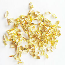 Wholesale 500pcs Gold plated snap on bail loops Pendant bails findings Jewelry