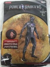 POWER RANGERS Black Ranger Bodysuit Costume MEN'S Size XXL NEW NIP Disguise