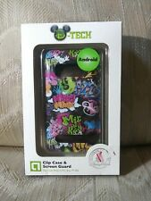 HTC Evo 4G D-Tech Disney Parks Android Phone Clip Case & Screen Guard Authentic