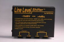 "Ebtech Line Level Shifter 2 Channel 1/4"" Jacks"