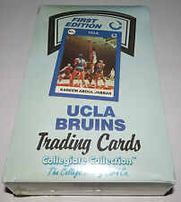 1990 Collegiate Collection UCLA Bruins Basketball First Edition 36-Pack Wax Box