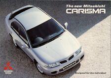 Mitsubishi Carisma 5-dr 1995-96 UK Market Sales Brochure 1.6 1.8 GLS GLX GL
