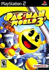 Pacman World 3 Playstation 2 Video Game