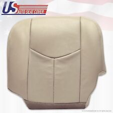 03 2004 2005 2006 GMC Yukon Denali Seat Cover Replacement Light Tan Synt Leather