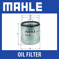 MAHLE Motorbike Oil Filter OC91D1 for BMW Motorcycles - Single