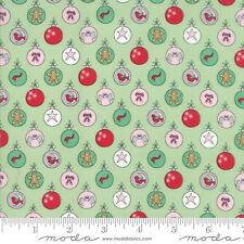 MODA Fabric ~ SUGAR PLUM CHRISTMAS ~ by Bunny Hill (2910 13) by 1/2 yard