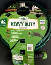 "Heavy Duty Garden Hose [50' Foot] Easy Connect Grip - Expert Gardener 5/8"" diam."