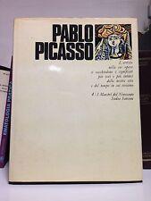 PICASSO - MONOGRAFIA I MAESTRI DEL NOVECENTO SADEA SANSONI 1969
