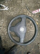 Vauxhall Zafira B Mk2 DESIGN Leather Steering Wheel and Airbag