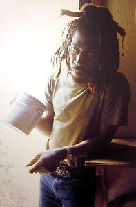 BUNNY WAILER reggae clipping Wailers color photo Marley drummer Rastafari Jah B