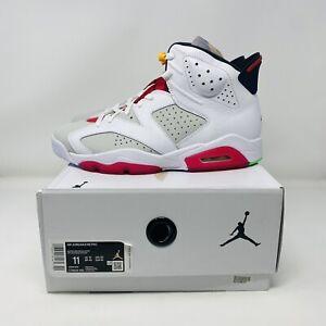 Nike Air Jordan 6 VI Retro Hare Bugs Bunny White Red Size 11 CT8529-062
