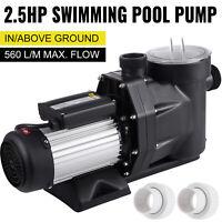 2.5HP InGround Swimming Pool Pump Motor w/ Strainer Generic Hayward Replacement