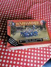 Juegos taller Warhammer Warhammer soldados del imperio Regimiento Sellada