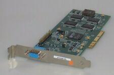 Number Nine 01-334003-000 Fru01k2018 802 VGA Video GRAPHICS Card AGP S3 VIRGE