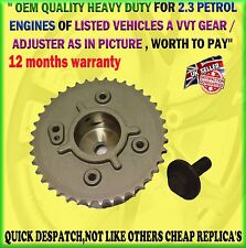 MAZDA 3 6 CX-7 2.3 MPS VVT VARIABLE VALVE PHASER CAMSHAFT TIMING CHAIN ACTUATOR