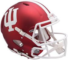 INDIANA HOOSIERS NCAA Riddell SPEED Full Size Authentic Football Helmet