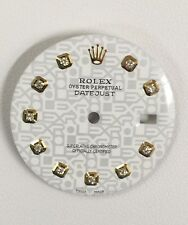 Rolex Men's Datejust Quickset White Jubilee Custom Diamond Dial 2-T