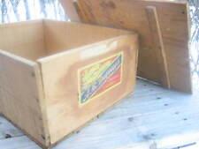 A. B. Dupuis (Quebec) wooden candy box