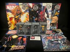 Eaglemoss MARVEL lead Figurine Collection Avengers LOT of 4 Ms Captain Ultron