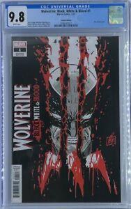 Wolverine: Black, White & Blood #1 | Ron Garney Variant | CGC 9.8