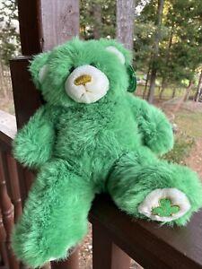 """Build-A-Bear Lil Luck Cub 2002 Plush Teddy Bear 13"""" Collectibears  3rd Series"""