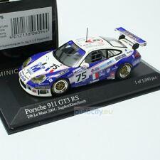 1 43 Minichamps Porsche 911 (996) Gt3 RS #75 le Mans 2004