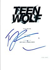 Tyler Posey Signed Autographed TEEN WOLF Pilot Episode Script COA