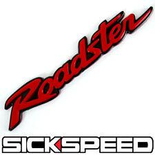 RED ROADSTER JDM EMBLEM/BADGE/LOGO ENGINE RACE MAZDA MIATA MX-5 NB NA MX5 EUNOS