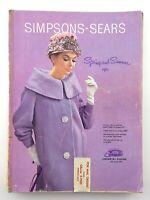 Vintage Simpsons Sears Spring Summer 1961 Sales Catalog Toronto Canada M336