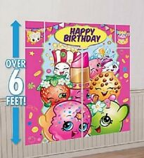 Shopkins Wall Decoration Kit Happy Birthday Party Scene Setter Supply Favor
