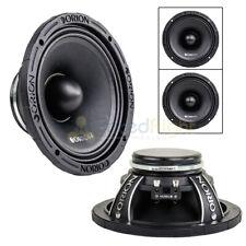 """2 Orion Audio 8"""" HCCA Mid Range Loud Speakers 2000 Watts Max Pair HCCA858N"""