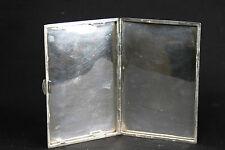 Boîte à cigarette Argent massif/ Cigarette box, solid silver
