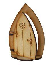 Opening Fairy Door Gnome Fairy Door Base Stand Opening Wooden Fairy Garden Door